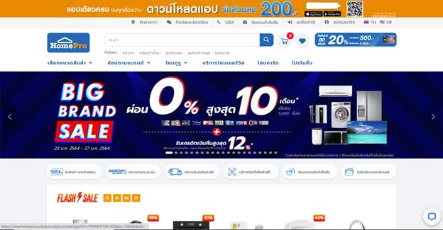 2021年泰国电商平台流量第八
